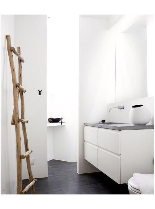 Scaletta da bagno porta asciugamani fagiolina xlab - Appendiabiti per bagno ...