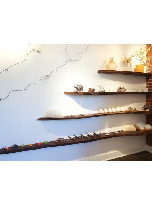 Mensole da parete in legno massello per libreria xlab - Mensole da parete design ...