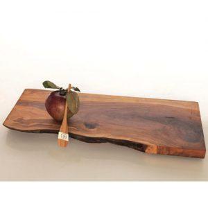 Tagliere in legno massello di castagno Orange