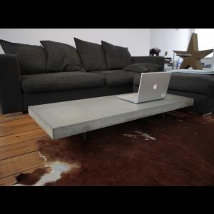 Tavolino da salotto effetto loft cemento design Weir