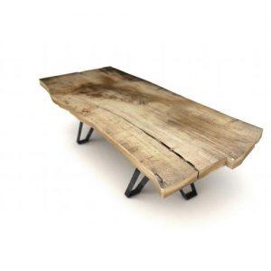 Tavolino da salotto castagno massello Johns