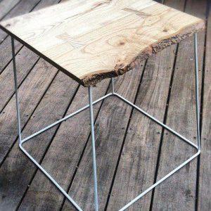 Tavolino da salotto in legno e ferro Klee