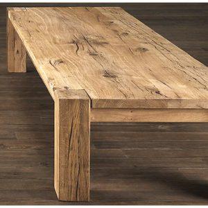 Tavolino da salotto in legno di castagno Haring