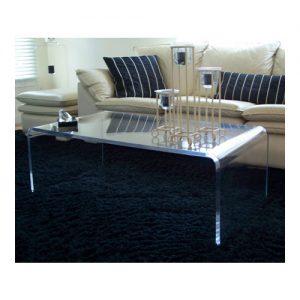 Tavolino da salotto a ponte in plexiglass Vlad