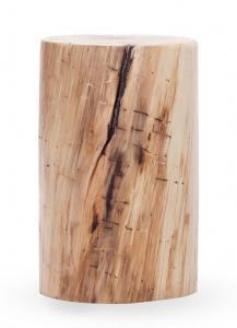 Tavolino da salotto legno tronco natural design Karin