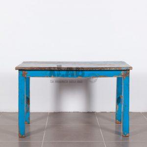 Tavolino da salotto stile Shabby Chic Blu Marine