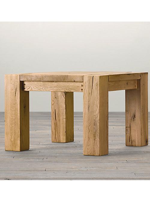 Tavolino Da Salotto Quadrato In Legno Di Castagno Corot Xlab