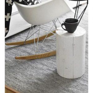 Tavolino da salotto tronco white small eco design Klimt