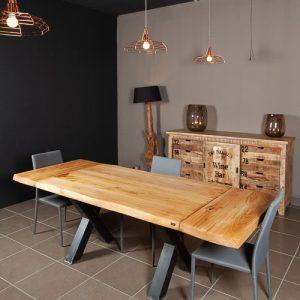 Tavolo allungabile in legno su misura Derek