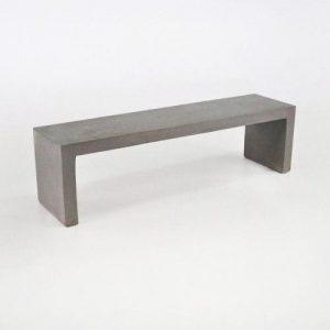 Tavolo consolle in legno effetto cemento Grey