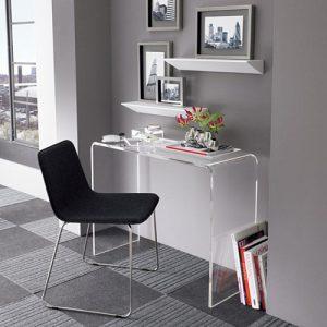 Tavolo consolle in plexiglass scrittoio Archibald