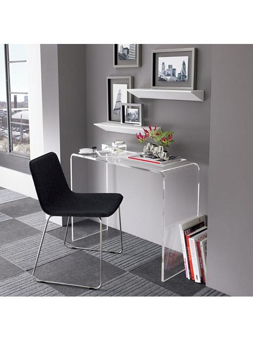 Tavolo consolle in plexiglass trasparente Archibald disponibile anche su misura