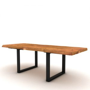 Tavolo da cucina allungabile in legno massello Jacob