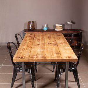 Tavoli Da Pranzo In Stile.Tavolo Da Pranzo In Stile Rustico Xlab Design