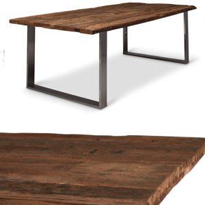 Tavolo da pranzo in legno massello Cliff