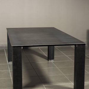 Tavolo in ferro stile industriale Baron Steel