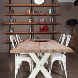 Tavolo in legno massello artigianale Xavier