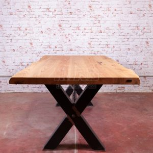 Tavolo X-Table design industriale italiano