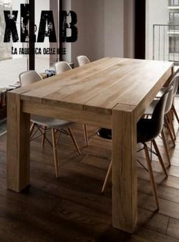 Tavolo da pranzo in legno massiccio Felix