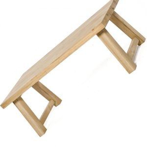 Carl tavolo in vero legno massello di castagno