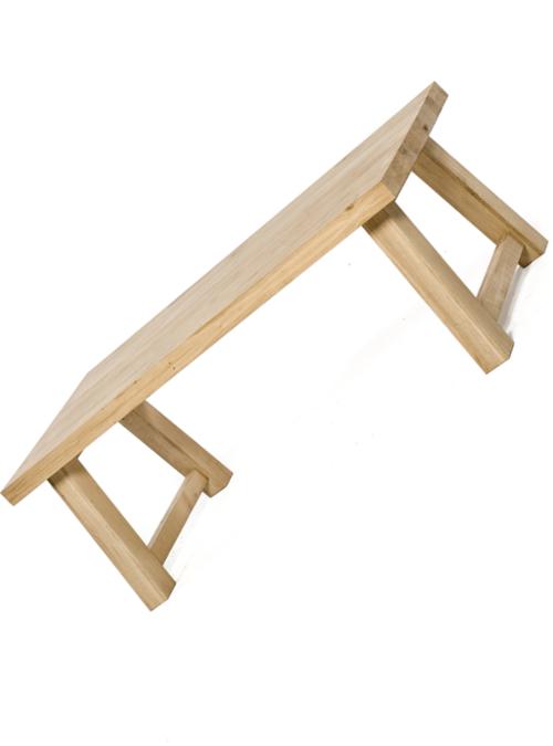Tavolo di design moderno in legno di castagno carl xlab for Tavolo legno moderno design