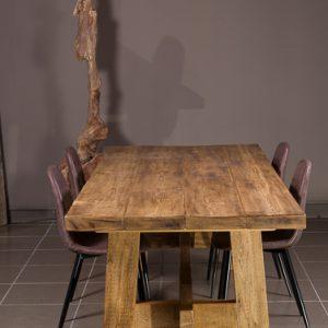 tavolo in legno grezzo da cucina - XLAB Design