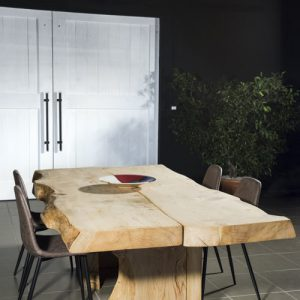 Tavolo legno massello cedro rosso del Libano Aaron