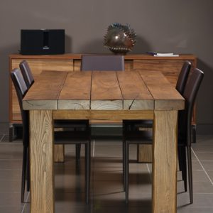 Sibi tavolo in legno massello stagionato