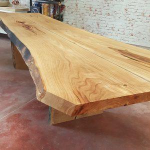 Tavolo taglio tronco Wooden Trunk bordo rustico taglio tronco