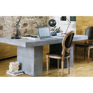 Concrete tavolo scrivania effetto cemento