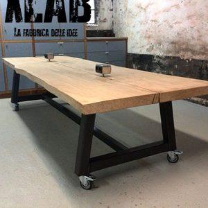 Tavolo scrivania Alcott design industriale