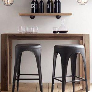 Tavolo consolle legno di castagno massello Pinkman
