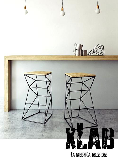 Tavolo consolle per ingresso o cucina slim xlab design for Consolle per cucina