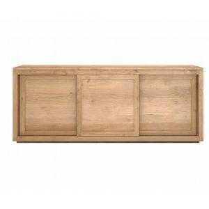 Mobile da soggiorno madia in legno massello Villy 200 X 50 X 80