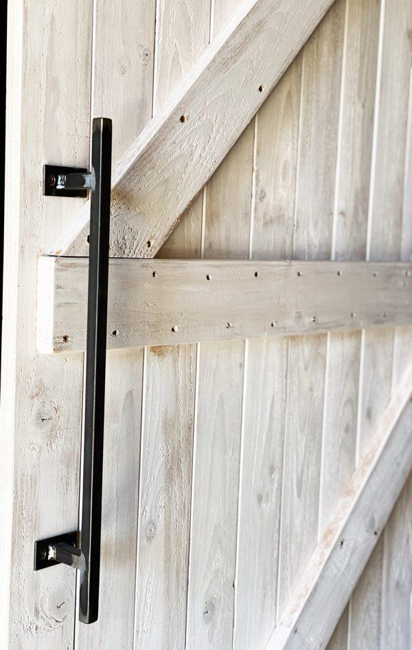 maniglia in ferro porta scorrevole barn door shabby chic esterno muro xlab design