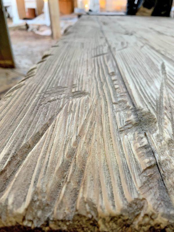 tavolo elvin legno di recupero