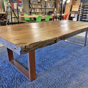 Tavolo in legno di castagno antico Virgi