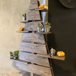Albero di Natale in legno con mensole original design