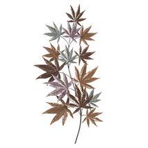 Quadro sagomato foglie autunnali 3D