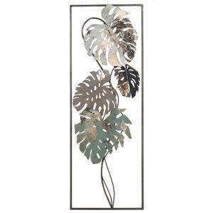 Decorazione da parete con foglie Cangia