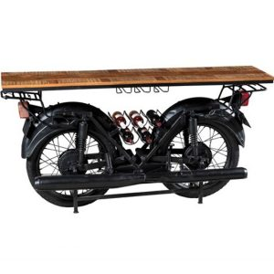 Consolle bar motocicletta stile industriale Motordouble