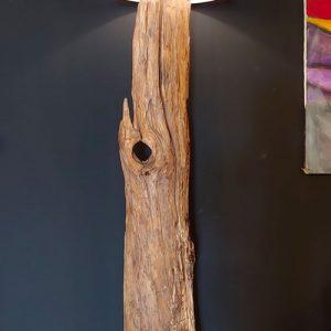 Lampada da terra in tronco marino Palmarola