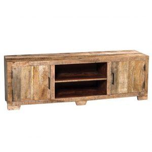 Mobile porta TV in legno di recupero Town