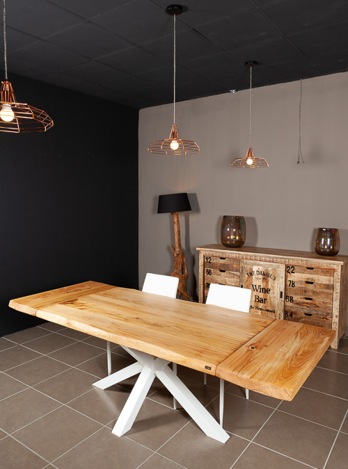 Tavoli allungabili di design in legno massello xlab for Tavoli allungabili di design