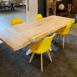 Offerta tavolo allungabile in legno massello 180×90 cm fino a 260 cm