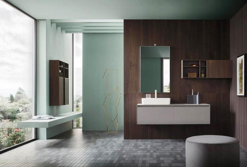 Come arredare il bagno con i mobili bagno in legno