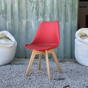 Sedie rosse design moderno