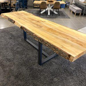 Tavolo da pranzo di design in legno di cedro del Libano