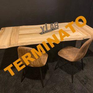 Tavolo da cucina piccolo allungabile 120×80 cm mini Chryss
