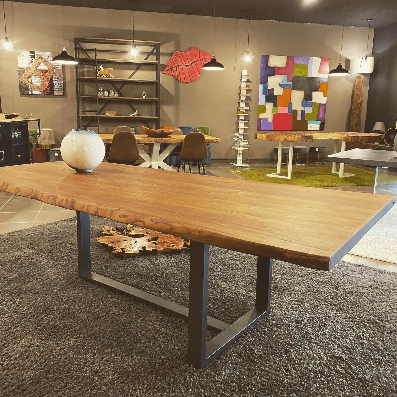 Tavolo Da Pranzo 3 Metri tavoli sala da pranzo in legno massello artigianali e su misura